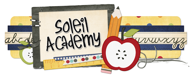 Soleil Academy Blog Design