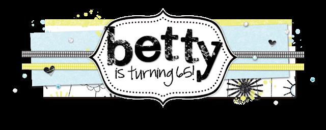 Betty is Turning 65 Blog Design