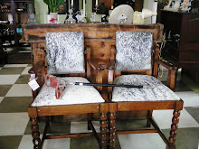 Recycled Vintage Barbers Chairs
