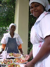 The friendly staff at Tanglewood Hotel