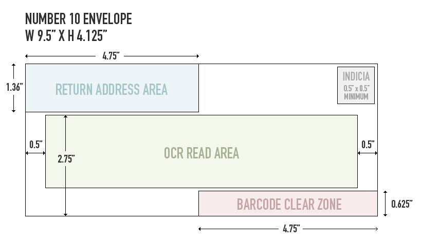 Envelope letter size for Letter size envelope measurements