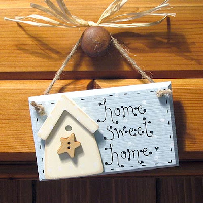 sign sweet home