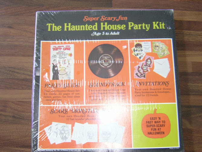 The haunted house party kit 1975