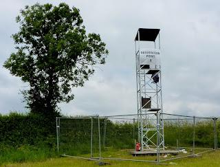 Observation tower blocking Melbourne FP20