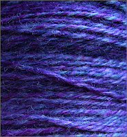 Close-up of Grape Jelly yarn