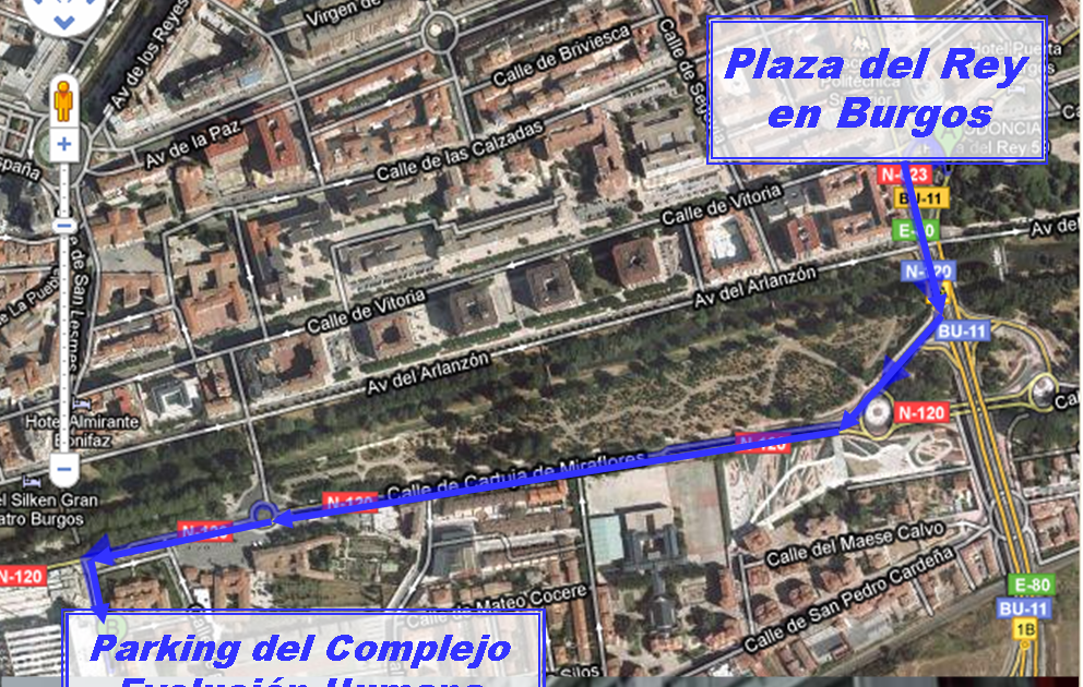 Reservas Burgos: Cómo llegar al Museo de la Evolución Humana en coche