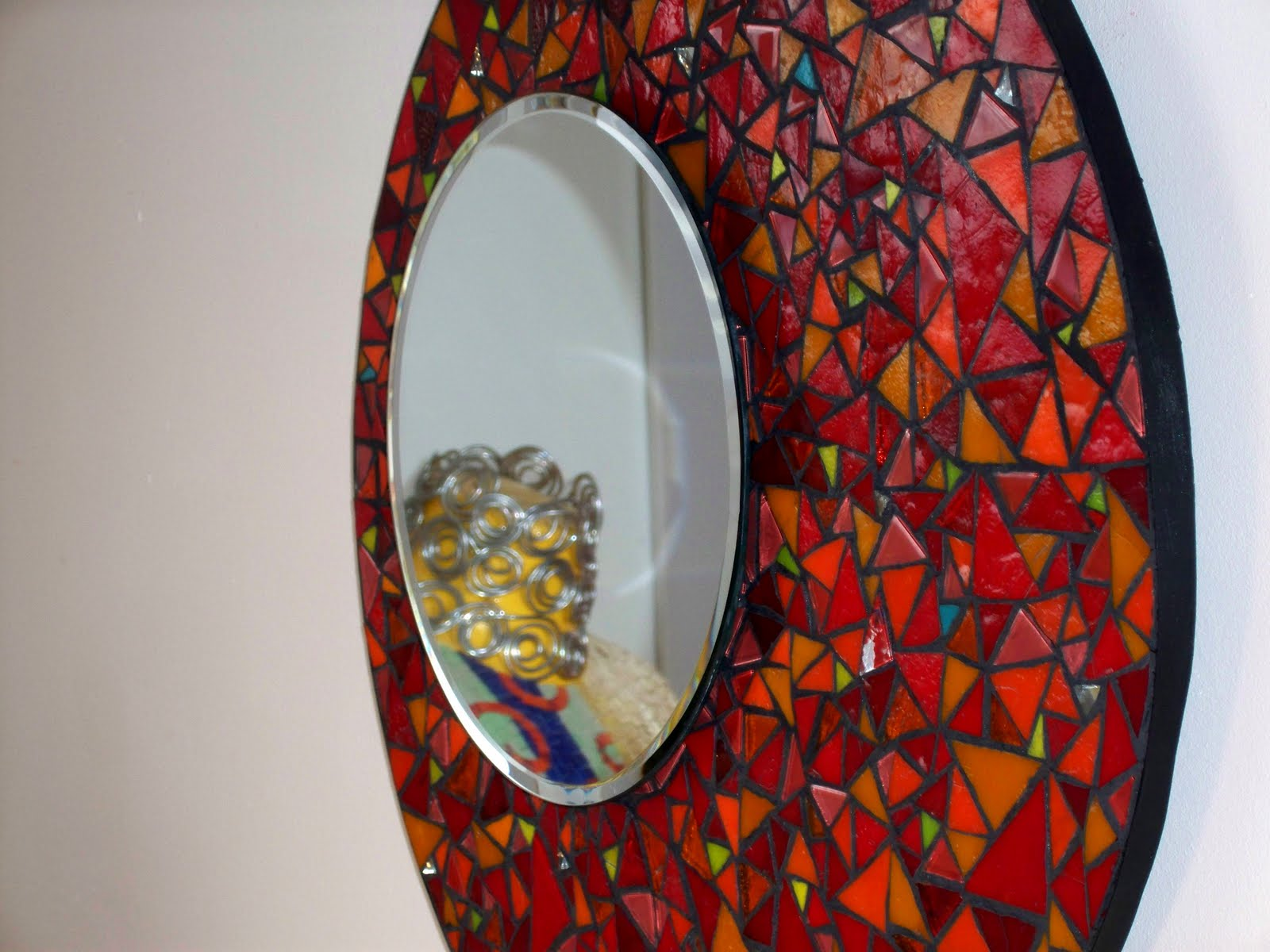 Mosaics mes derni res cr ations for Mosaique miroir