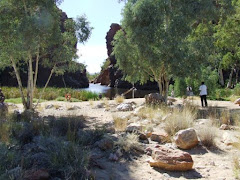 Ellery big hole, west McDonald ranges, NT