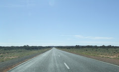 the long road out of Pt Augusta, SA