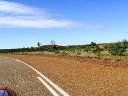 first view of the Devil's marbles