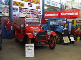 1910 ALBION (blue) oldest truck in museum