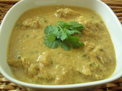 how to make chicken korma without cream