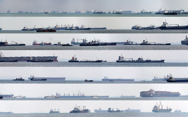 Preview of Striped Wall of Ships, Singapore, Sebastiaan Deckers