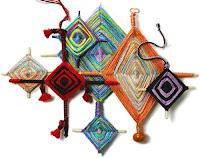 Мандалы ojos de dios (tsikuri)