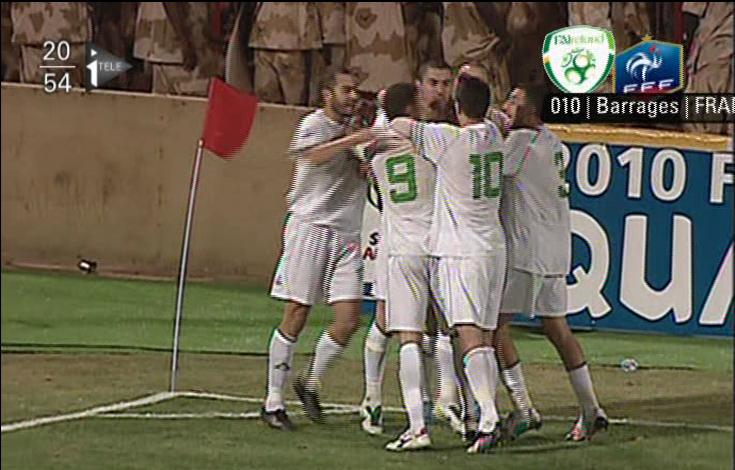 Rencontre france algerie football