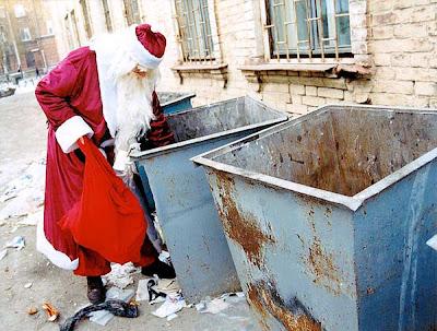 Papa Noel en crisis