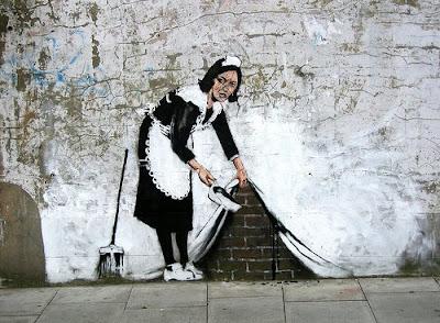 graffiti criada barriendo