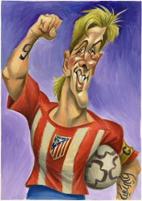 caricatura de fernando torres