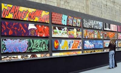 exposicion de graffitis en Paris