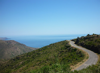 carretera Sant pere de Rodes