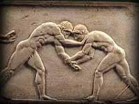 Greek wrestlers