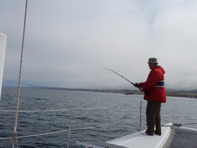 Sailing adventures of david kathy fort bragg fishing for Fort bragg fishing charters