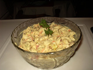 ma cuisine sans pr 233 tention salade de p 226 te et poulet au curry
