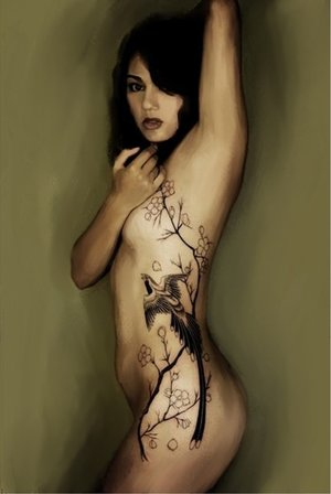 Nude Tattoo 2 by splinterghost ... Full Body Sensual Massage (FBSM) for OutCall, Travels, InCall