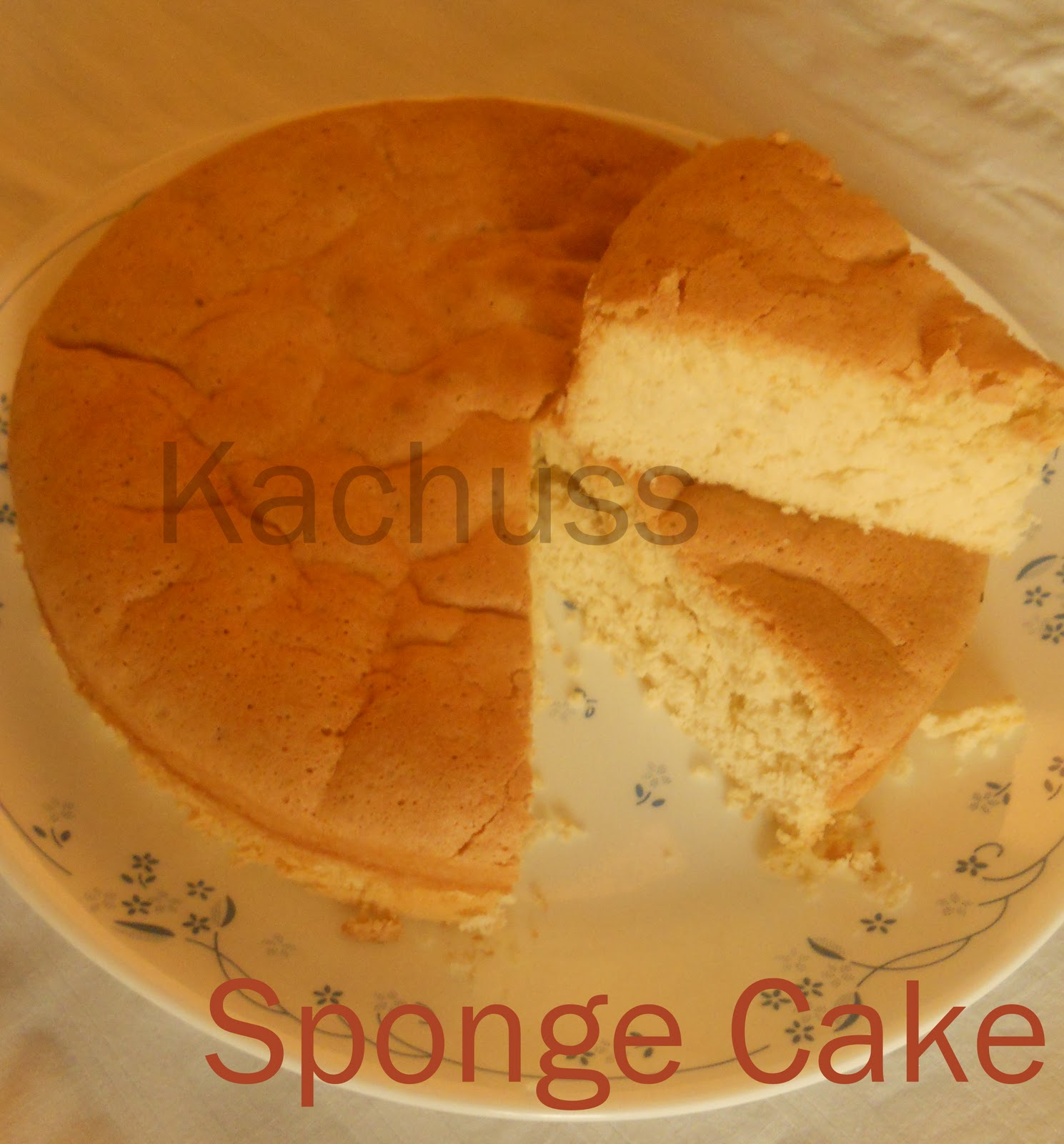 Difference Between Sponge And Pound Cake