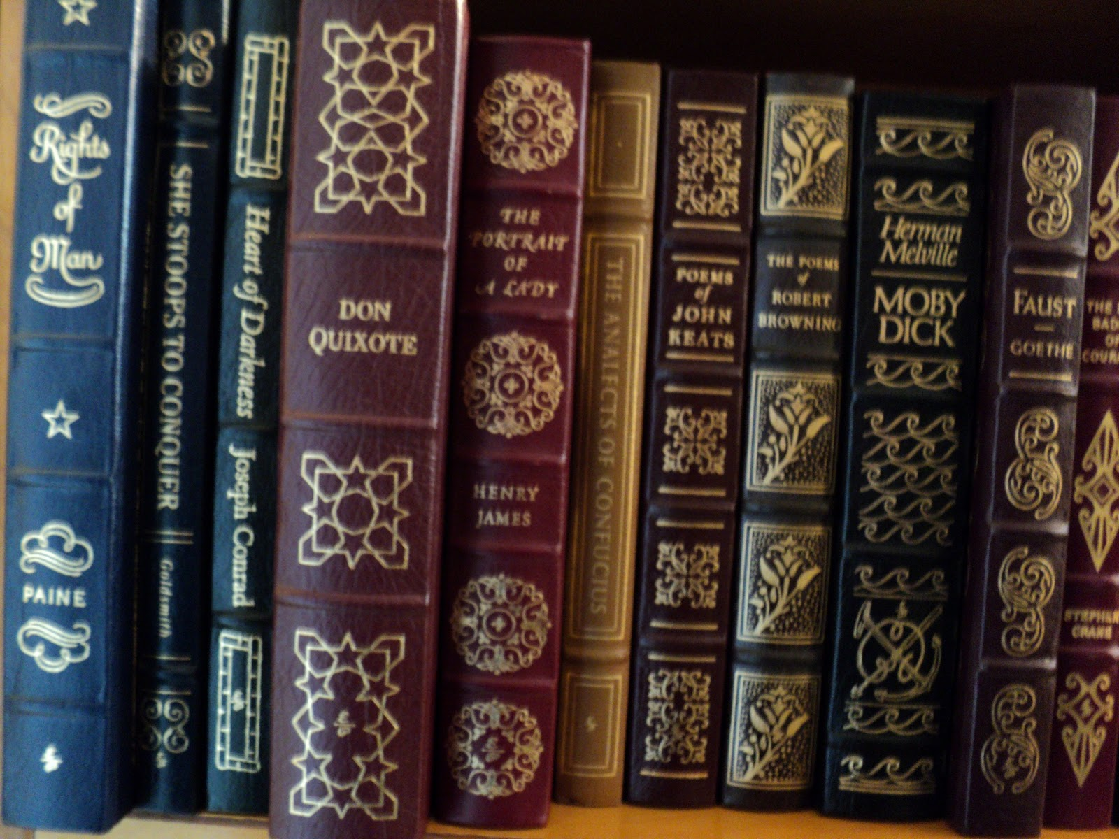 Easton Press Poetry of Elizabeth Browning - 25 vol LIBRARY OF GREAT POETRY Set