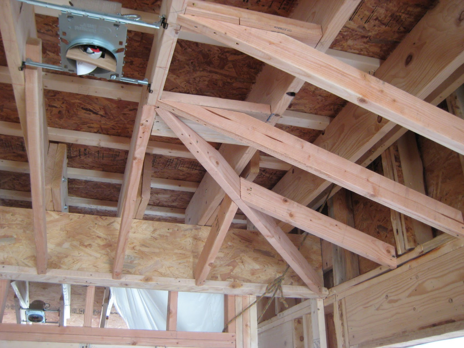 Framing Tray Ceiling: Better Butterworth: Days 45-60