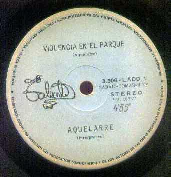 Aquelarre - 1973 - Violencia en el parque / Ceremonias para disolver (simple) Violencia+en+el+parque