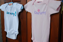 hand painted name onesies