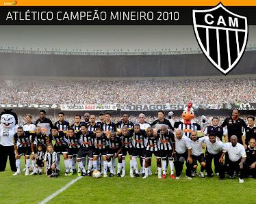 Atlético Mineiro - campeão Mineiro 2010