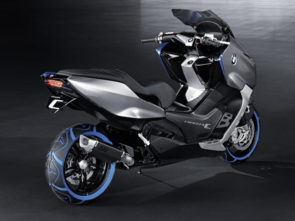 lo ultimo en motos moto bmw concept c. Black Bedroom Furniture Sets. Home Design Ideas