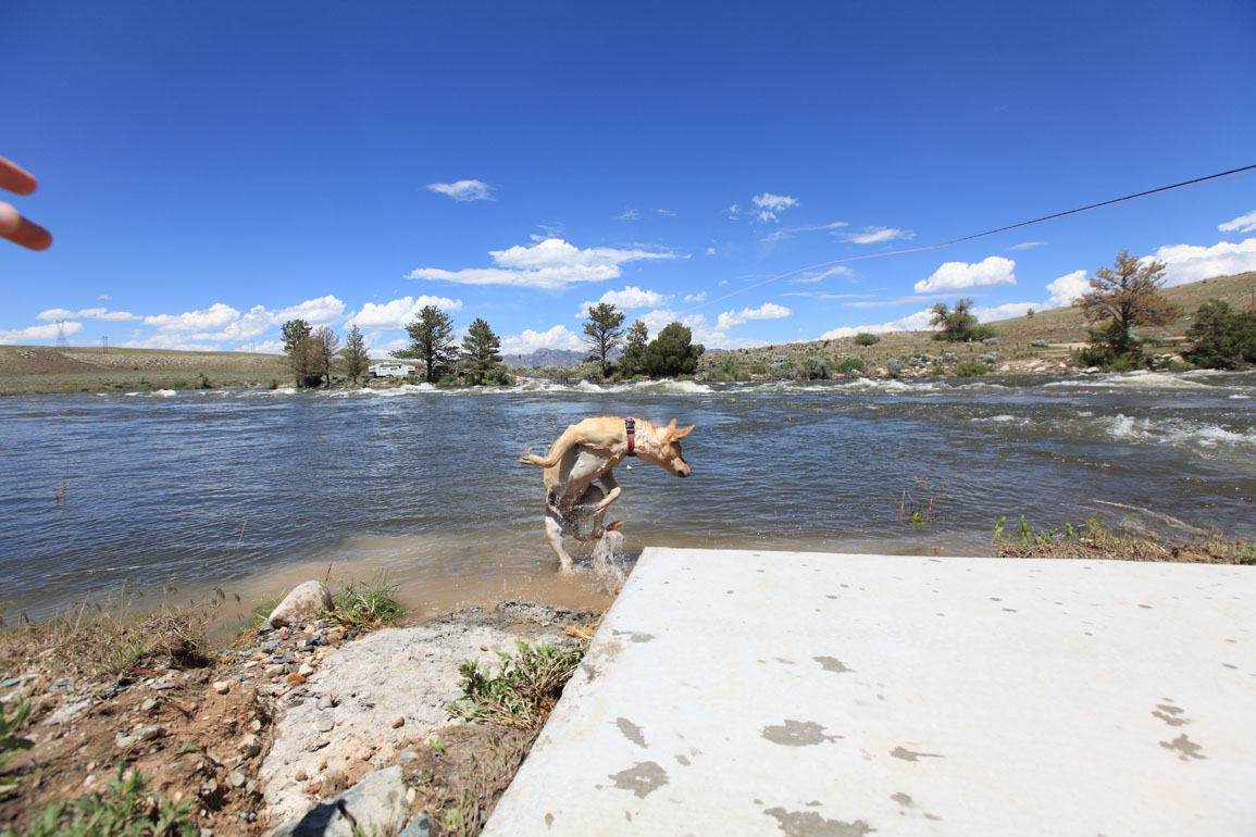 Wyoming fly fisher miracle mile supersized for Miracle mile fishing