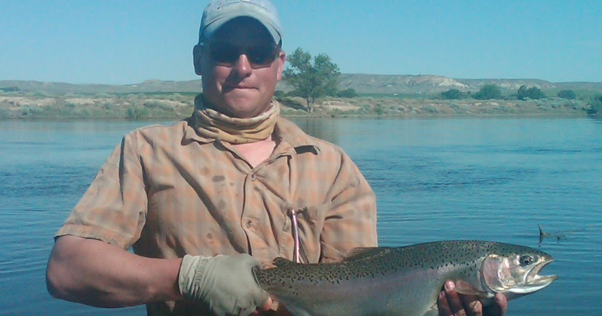 Wyoming fly fisher for North platte fishing report