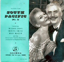 South Pacific Record Jacket- London 1952