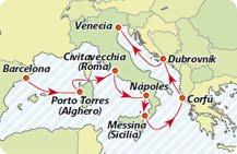 Crucero Adriatico,Cruceros Iberocruceros