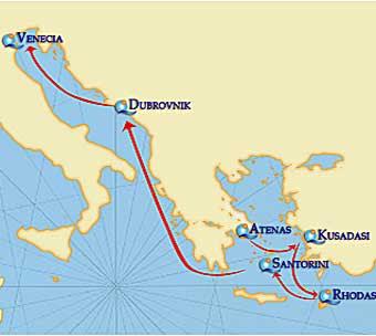 Tesoros del Adriatico,Quail Cruises