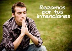 Oramos por ti...