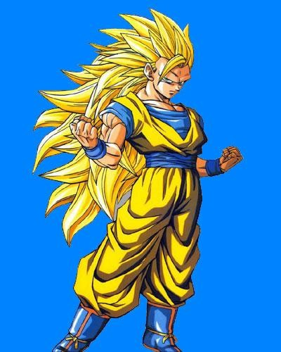 Super Saiyan Three. GOGETA SUPER SAIYAN 3