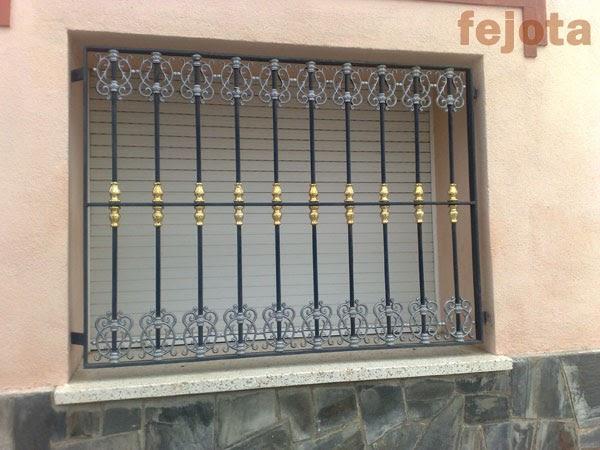 Forja art stica en aluminio rejas de forja con adornos de aluminio - Rejas de forja antiguas ...