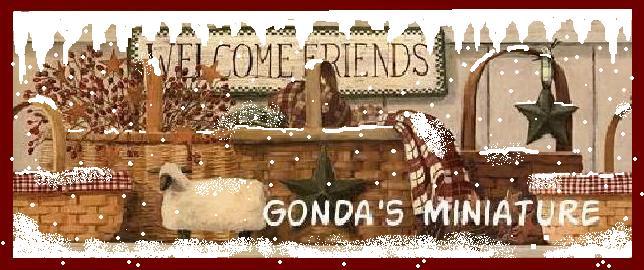 Gonda's miniature