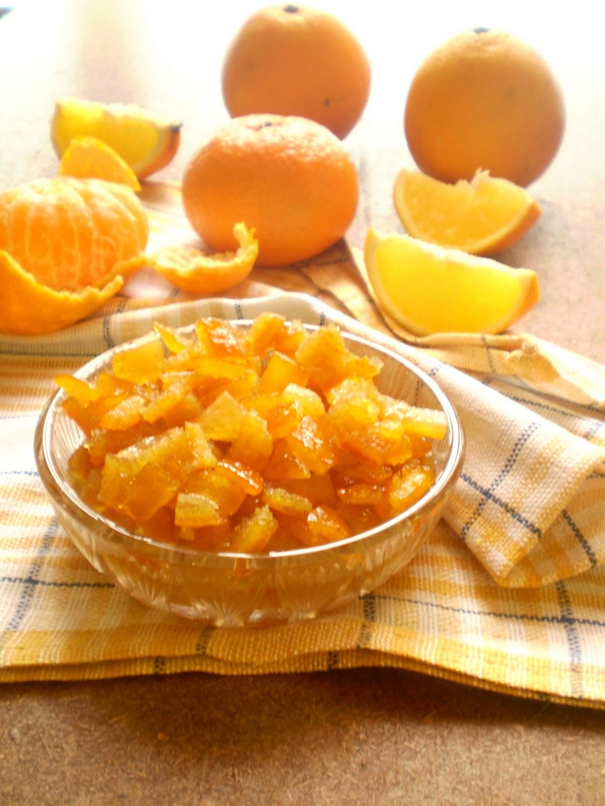 Конфеты из мандариновых корок рецепт
