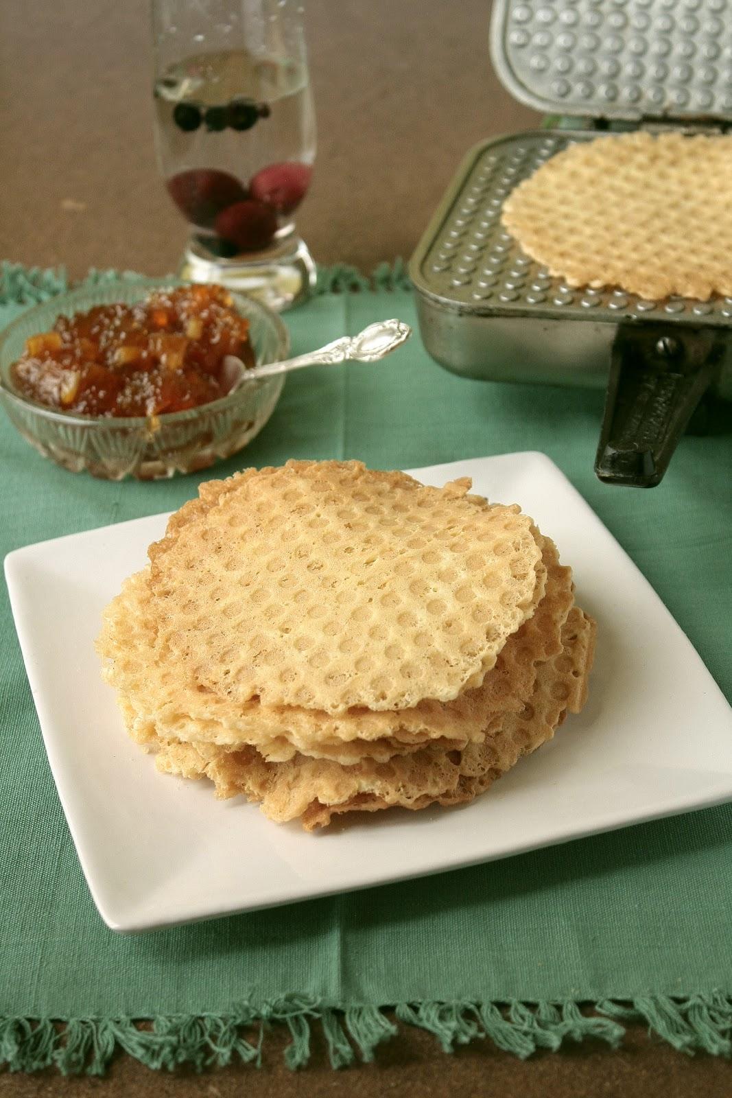 Вафли в вафельнице тонкие рецепт пошагово