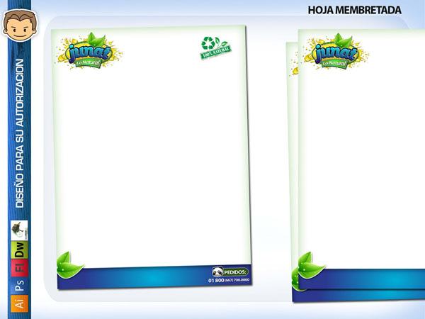Diseño para hojas membretadas gratis - Imagui