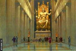 statuia zeus olympia