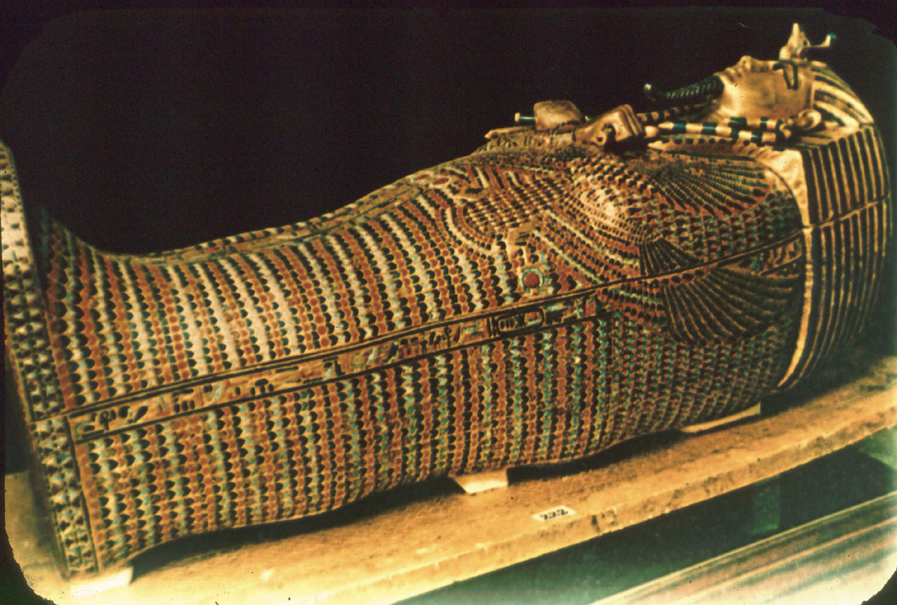 Wallpapers, Clip Art, and Images: King Tut Middle Coffin
