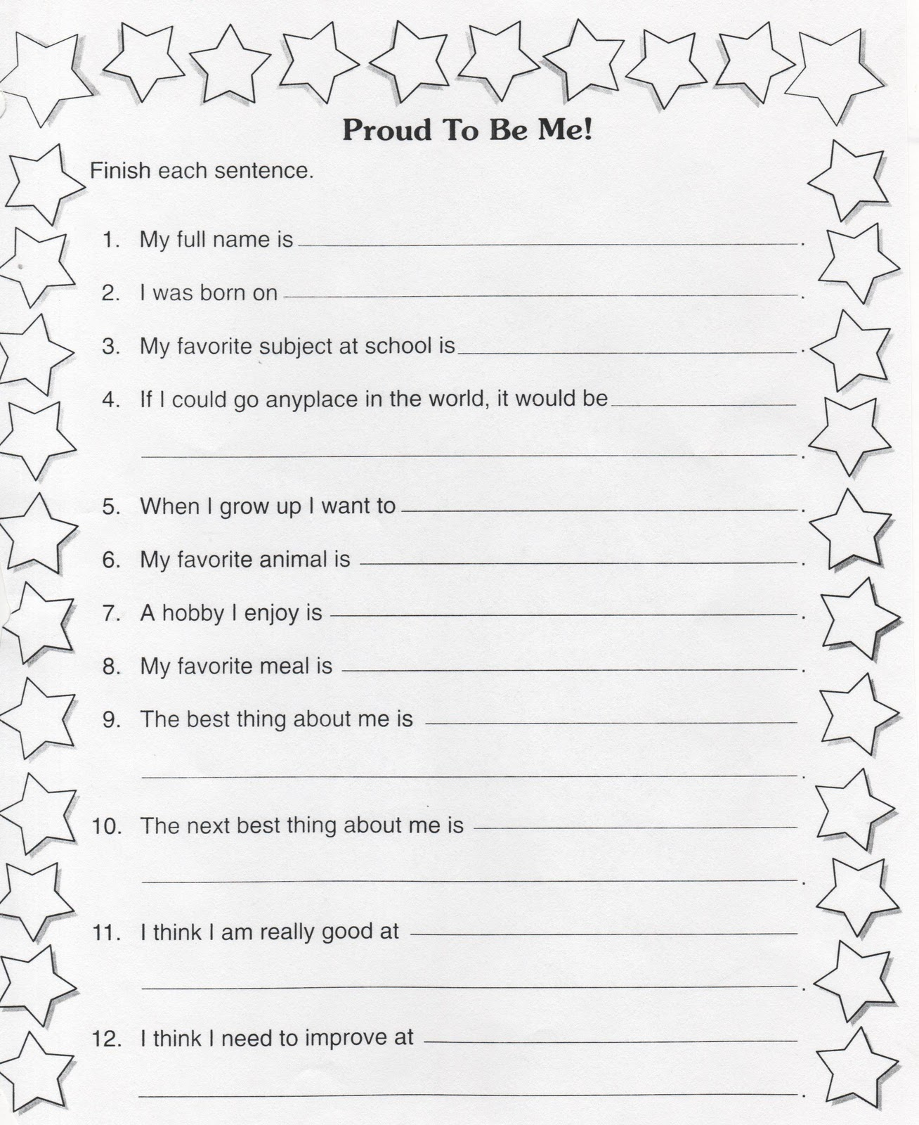 worksheet Get To Know You Worksheet elementary school enrichment activities beginning of the year get to know you papers